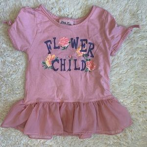 Flower Child toddler outfit